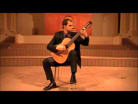 """Astor Piazzolla - """"Oblivion"""" for solo guitar (arr. Lake)"""