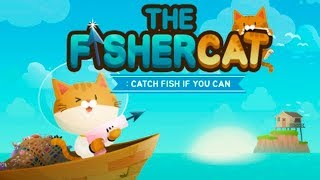 Котик Рыбак The Fishercat А какую рыбу словишь ТЫ? Подводная Рыбалка с Милым Котёнком Let's Play