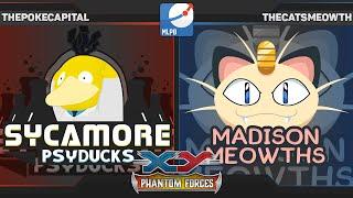 MLPB Week 6 XY Phantom Forces Pokemon Pack Battle vs Madison Meowths TheCatsMeowth