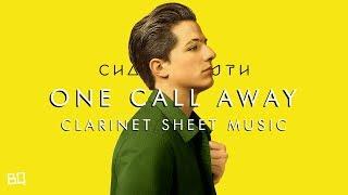 Video One Call Away - Charlie Puth (Clarinet Sheet Music) download MP3, 3GP, MP4, WEBM, AVI, FLV November 2018