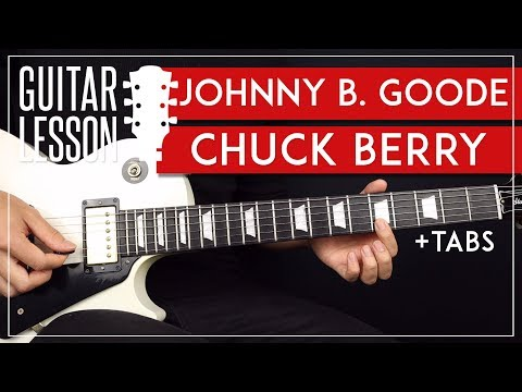 Johnny B Goode Guitar Lesson 🎸 Chuck Berry Blues Guitar Tutorial |Solo + TAB| thumbnail