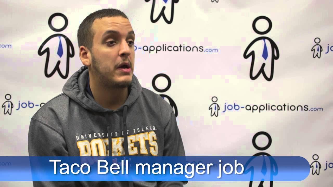 Taco Bell Supervisor - Job Description & Salary