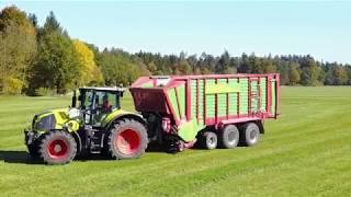 5. Schnitt Grassilage + Maissilage (Fendt936/Claas 870) | Innviertler Farmerkult