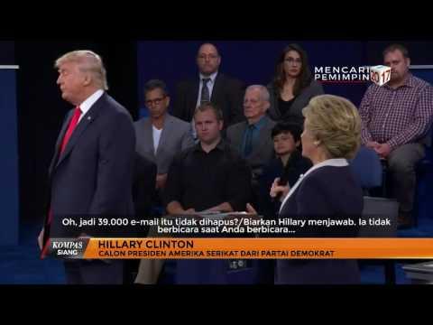 Trump Ancam Penjarakan Clinton
