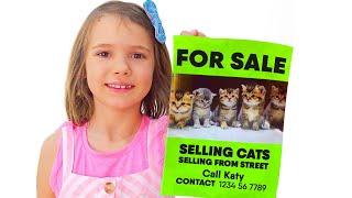 Max y Katy bañan gatitos