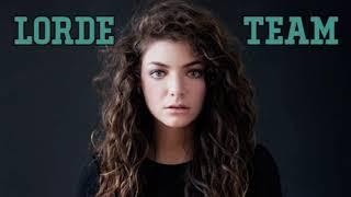 Lorde - Team (one hour loop)