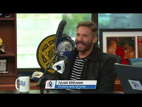 Julian Edelman's Great Reaction to Bill Belichick Destroying a Reporter | The Rich Eisen Show