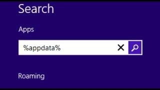 Где находится Appdata на Windows 8