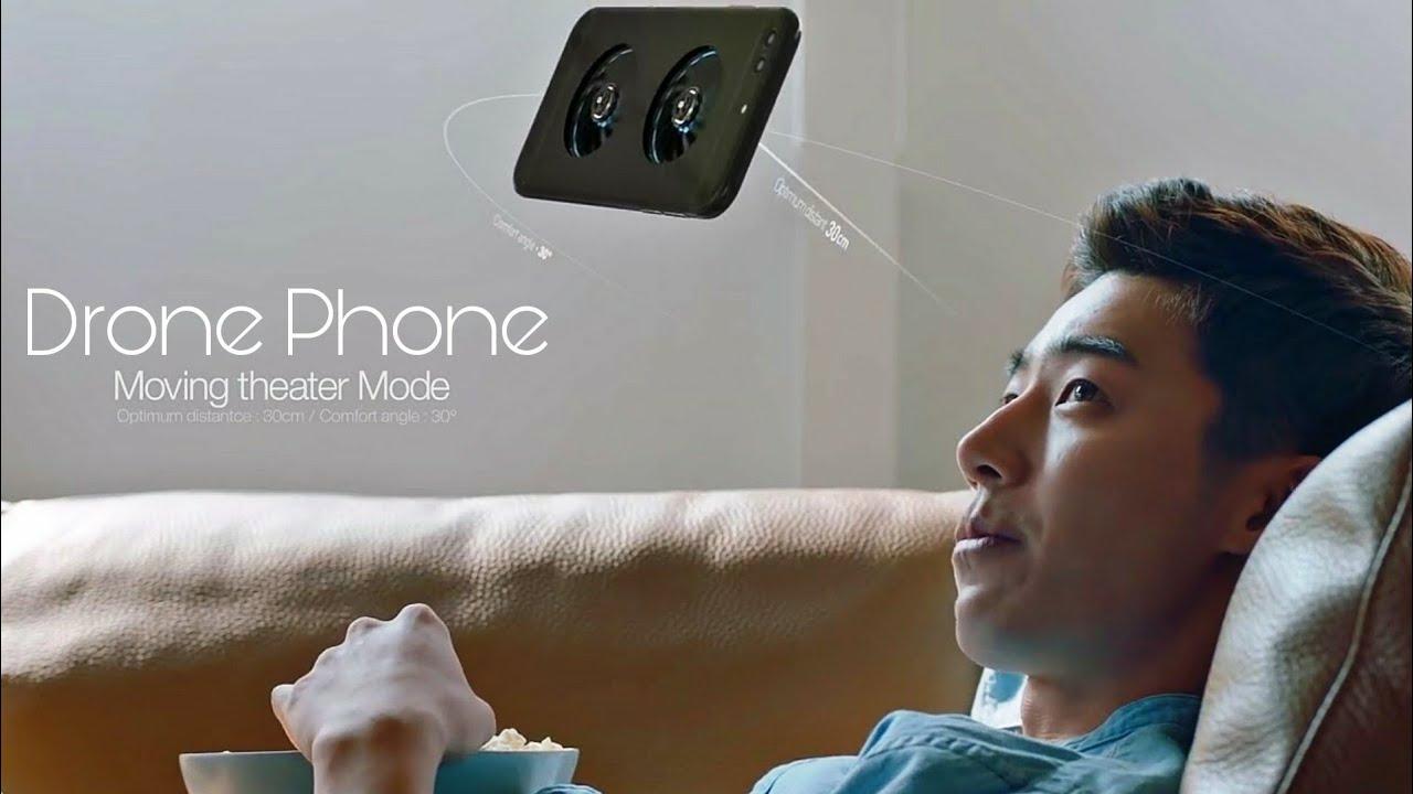 Tech News 40 Flying Selfie Phone Drone Phone Lg U