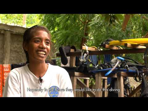 Video Of The Week | Meet Mima - Timor-Leste's FIRST FEMALE divemaster!