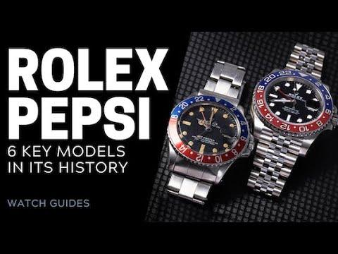 Rolex Pepsi: 6 Key Models in History   SwissWatchExpo