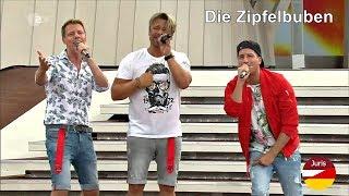 Die Zipfelbuben - Warum bist Du so schön (ZDF-Fernsehgarten 28.07.2019) YouTube Videos