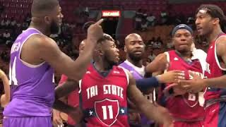 Amare Stoudemire FIGHTS At The Big 3 League!