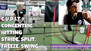 C.U.D.I.T.® CONCENTRIC HITTING: SOFTBALL BASEBALL HITTING TIPS DRILLS: gocudit.com