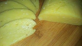 домашний твердый сыр из творога