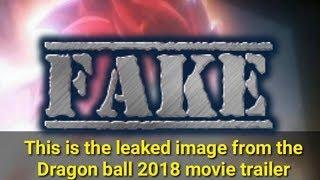 Dragon Ball Super 2018 Movie Leaked Image DEBUNKED