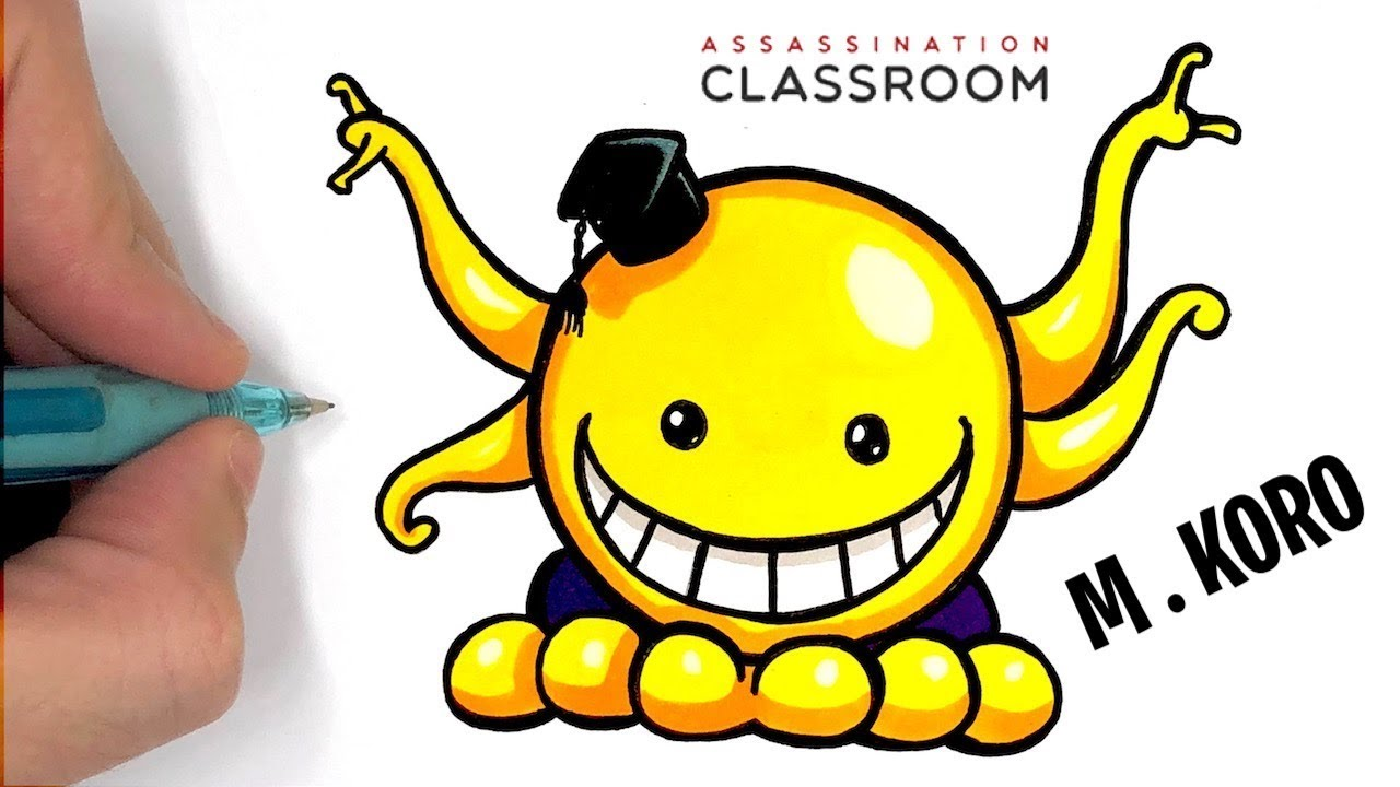 Tuto Dessin Facile Mr Koro Assassination Classroom