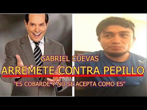 GABRIEL CUEVAS explota contra PEPILLO ORIGEL tras llamarlo COBARDE y NO SE ACEPTA COMO ES