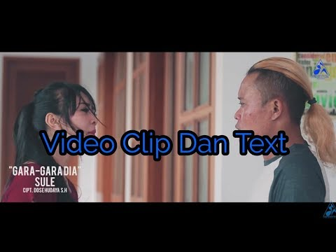 Video Clip And Text Using It (Sule)    Video Clip Dan Text Gara Gara Dia (Sule)