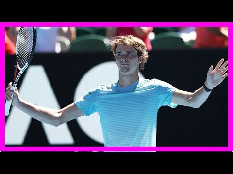 Alexander Zverev beating Thomas Fabbiano in straight sets | Daily Mail online