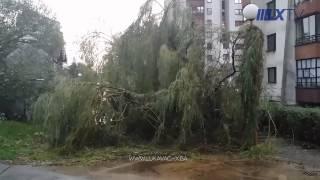 [Lukavac-x.ba] Posljedice olujnog nevremena u Lukavcu (22.07.2014)