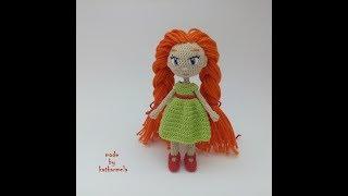 Каркасная кукла крючком: куколичка Ная