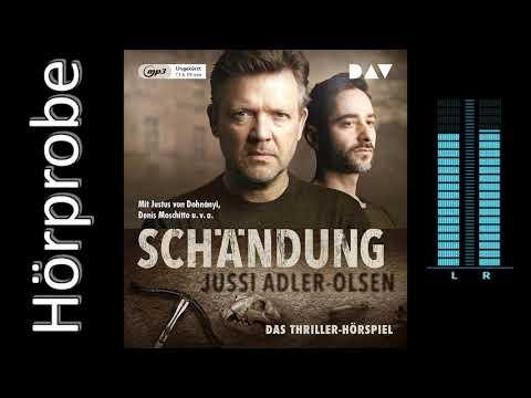 Schändung - Carl Mørck YouTube Hörbuch Trailer auf Deutsch