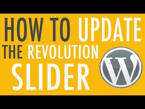 How to Update Slider Revolution Plugin in WordPress