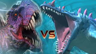 All New VIP Dinosaurs Vs OMEGA TREX 09 - Jurassic World™: The Game