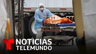 Más muertos por COVID-19 en un día que el 11 de septiembre | Noticias Telemundo
