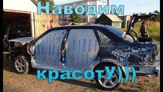 Покраска авто своими руками.Volkswagen B4 Ч 3