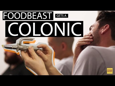 Foodies Get A Colonic For The First Time | Foodbeast Adventure