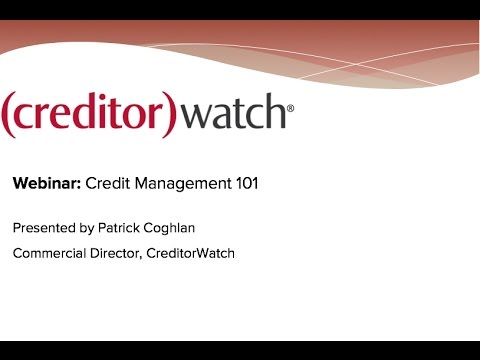 Credit Management 101
