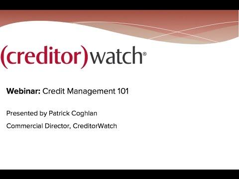 Credit Management 101