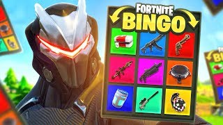 BINGO SCAVENGER HUNT CHALLENGE in Fortnite Battle Royale