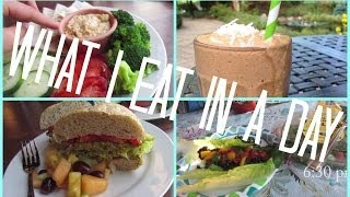 What a Semi-Vegetarian Teen Girl Eats on a Weekend Day + Fitness