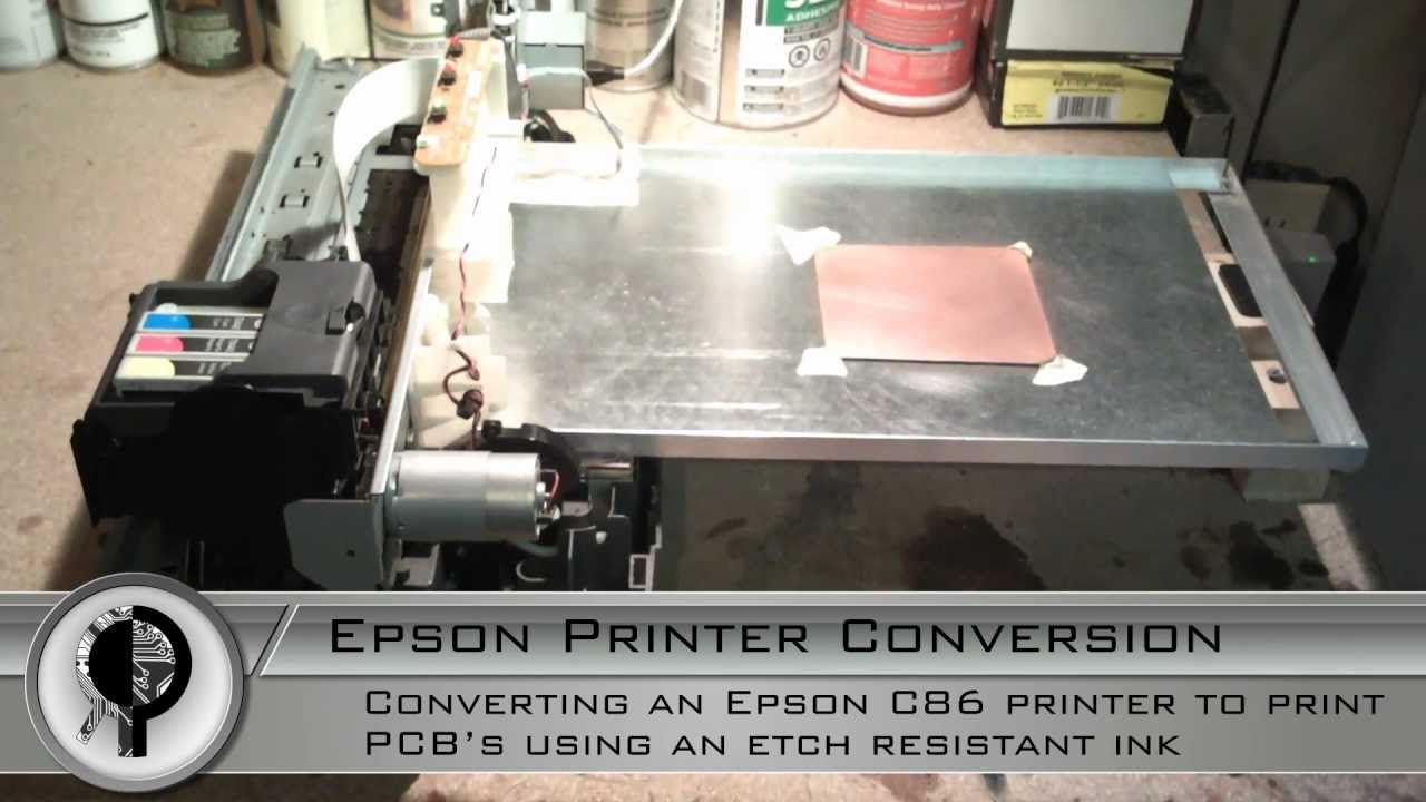 Converting an Inkjet Printer to Print PCBs: 13 Steps (with