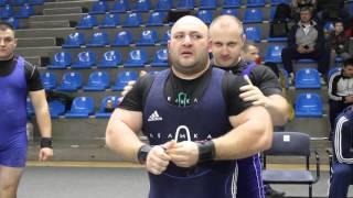 Артур Гулян устанавливает мировой рекорд 260 кг
