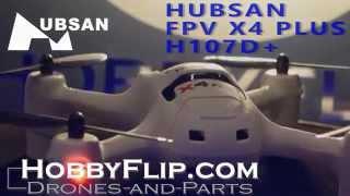 Звичайно плюс H107D FPV-очок Х4+ Quadcopter дрон Розпакування і пробний політ з характеристиками