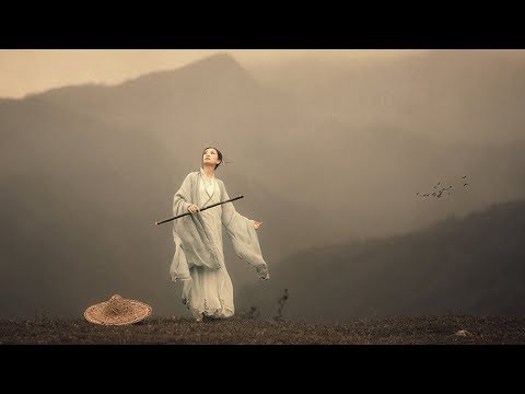 Romantic & Beautiful Chinese Music Bamboo Flute - Chinese Instrumental Music for Learning & Sleeping