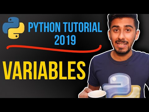 1 - What Are Variables? Python tutorial for absolute beginners (2019) thumbnail