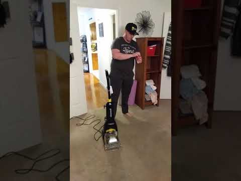 The Review Guy- Bissell powerforce carpet cleaner