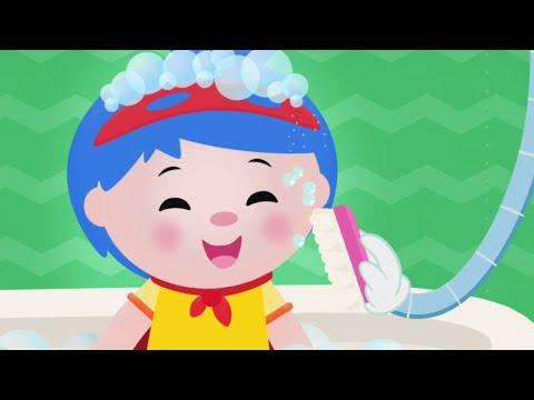 Scrub A Dub Dub | Mother Goose Club Baby | Songs For Kids