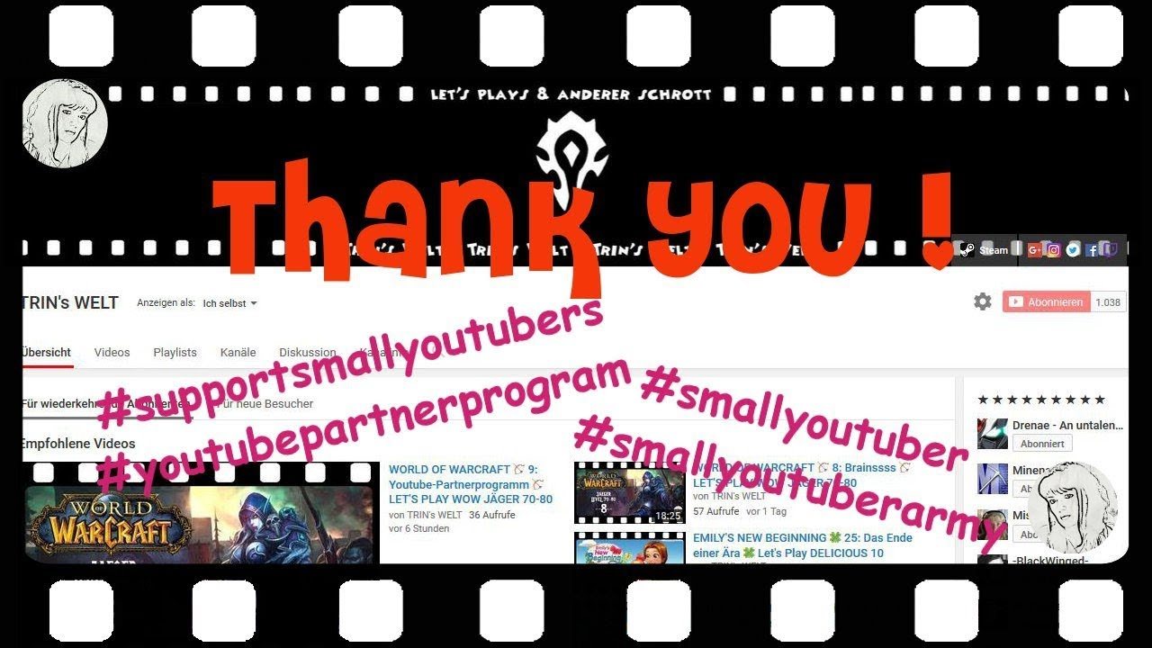 A Very Special Video In English ❣ #smallyoutuberarmy #supportsmallyoutubers ❣ THANKS FOR 1K - THANKS TO EVERY SINGLE PERSON THAT MADE IT POSSIBLE