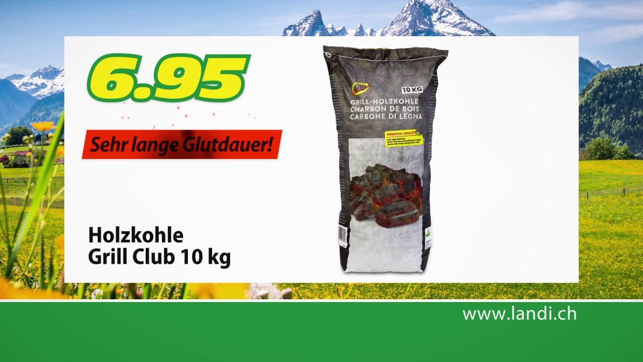 LANDI Tiefpreis HIT  Holzkohle Grill Club 10 kg  ~ Staubsauger Landi