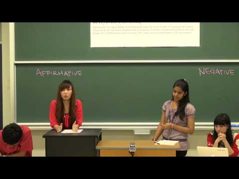 Japan-U.S. Exchange Debate 2012~Demo debate with Global 30 D