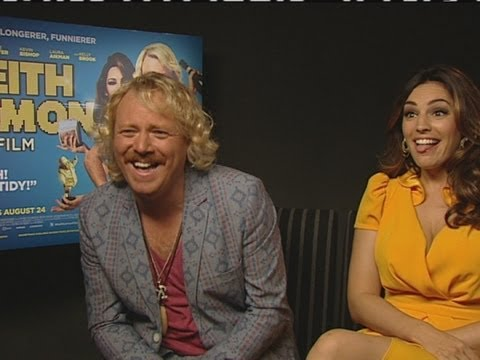 INTERVIEW: Keith Lemon tells Kelly Brook how big his part is (in his new film)