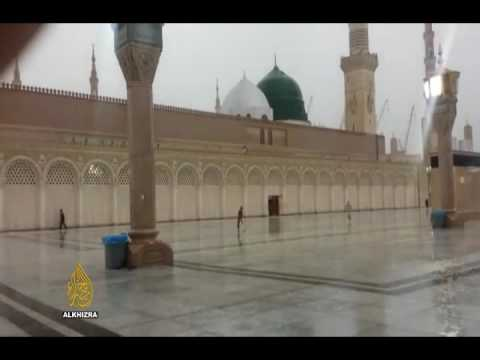 rain-in-madina-sharif---al-khizra-travel-&-tours