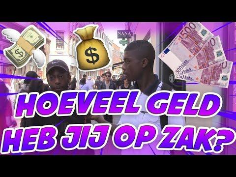 (€5000 OP ZAK!) - HOEVEEL GELD HEB JIJ OP ZAK? - AMSTERDAM