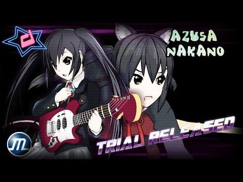 M.U.G.E.N CHARACTER: Azusa Nakano 中野 梓  TRIAL VERSION Released